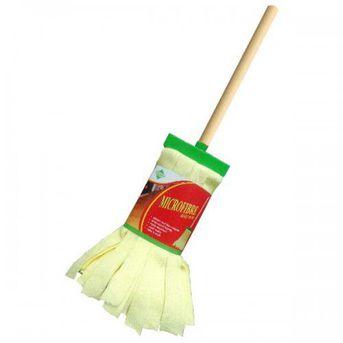 PT. Indomop Multi Makmur - jual Clean Matic Daily Wet Mop Microfibre - Kuning - 1 Set Isi 24 Pcs - Kuning harga terbaik
