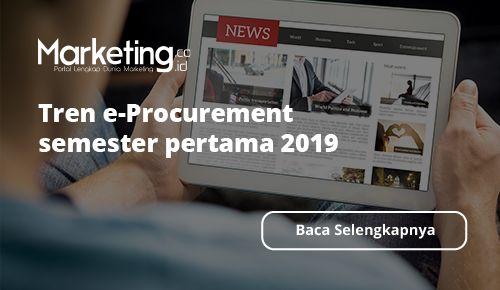 Mbiz Sampaikan Tren e-Procurement Semester Pertama 2019