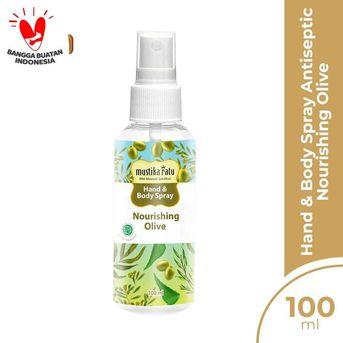 Mustika Ratu Hand and Body Spray Antiseptic - Nourishing Olive