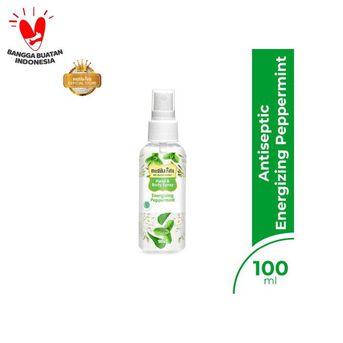 Mustika Ratu Hand and Body Spray Antiseptic - Energizing Peppermint - imun kuat indonesia hebat