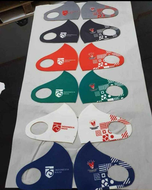 Masker Custom Scuba Premium, bebas desain, dan full warna